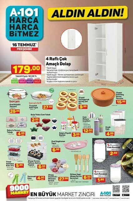 A101 16 Temmuz 2020 Aktüel Ürünler Kataloğu