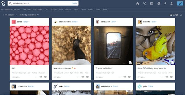 Tumblr's Built-In GIF Maker